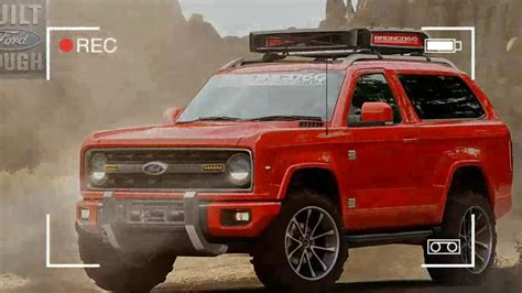 wow  ford bronco price youtube