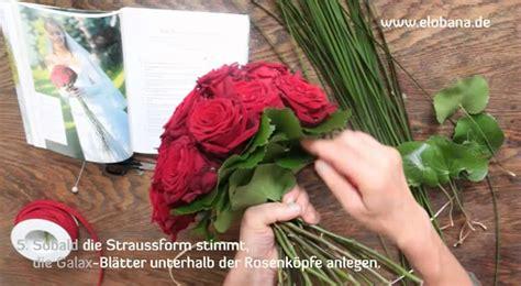 Blumenstrauß Selber Binden Anleitung by Brautstrauss Selbst Gemacht
