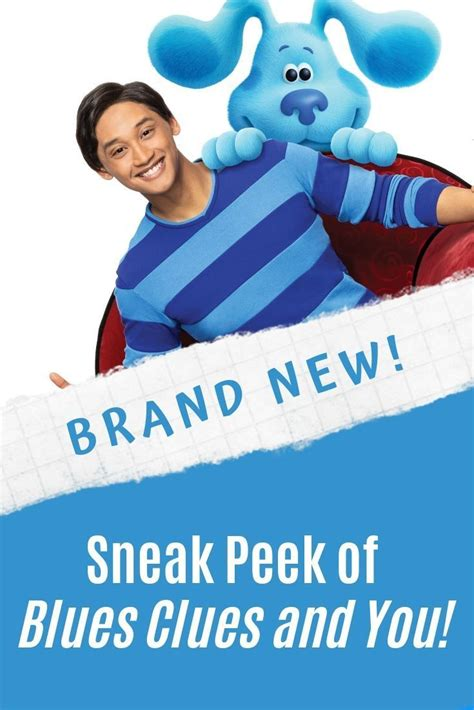 Nickelodeon's New Series Blue's Clues and You! to Debut ...