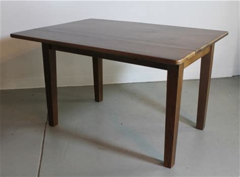 Small Drop Leaf Table In Oak  Ecustomfinishes