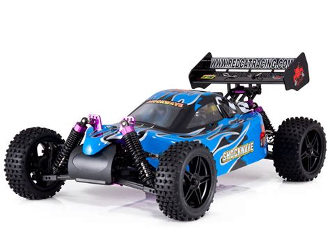 Redcat Racing Shockwave 110 Scale Buggy Nitro Fuel Blue 1