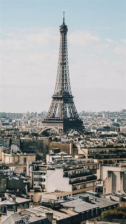 Paris Tower Eiffel Buildings Background Iphone Wallpapers