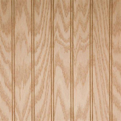 Wood Paneling  Beadboard  Red Oak Veneer Unfinished