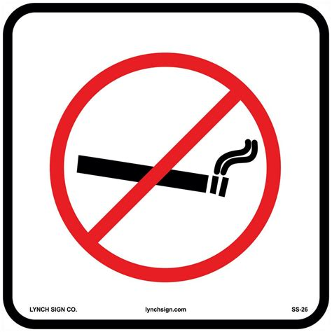 lynch sign       smoking  elevator