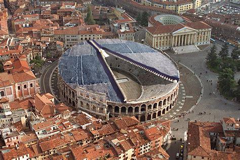 Ingressi Arena Di Verona Nuova Copertura Dell Anfiteatro Romano Arena Di Verona