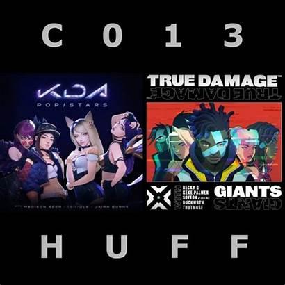 Kda Damage True Huff C013 Vs Mashup