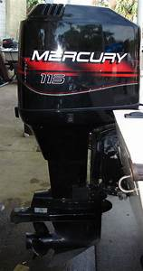 115 Hp Mercury Outboard Boat Motor For Sale