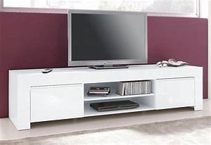Tv Möbel Hochglanz Weiß : lc tv lowboard breite 140 cm oder 190 cm kaufen otto ~ Bigdaddyawards.com Haus und Dekorationen