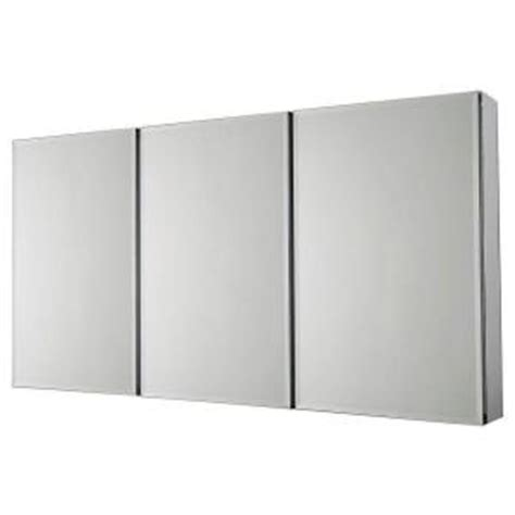 Pegasus Medicine Cabinet Sp4589 by Pegasus 48 In W X 26 In H Frameless Recessed Or Surface