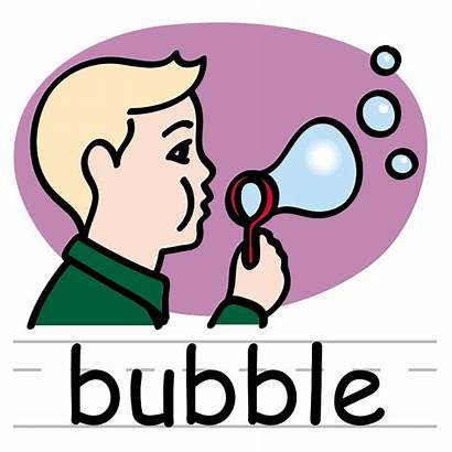 Words Basic Clip Bubble Toys Clipart Labeled