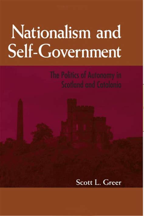 nationalism   government  politics  autonomy