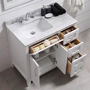 Finding bathroom storage for a small difficult bathroom for How high should a bathroom vanity be