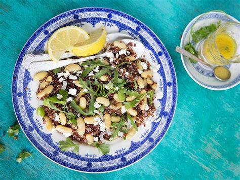 sos cuisine com salade de quinoa et flageolets une recette soscuisine