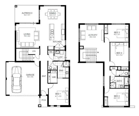 2 home floor plans house plans 4 bedroom 2 home plans for entertaining