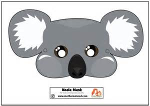 gift ideas kitchen free koala mask printable