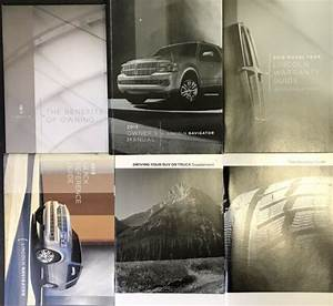 2013 Lincoln Navigator Owners Manual Guide Handbook With
