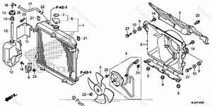 Honda Side By Side 2018 Oem Parts Diagram For Radiator