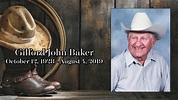 Gilford John Baker Keepsake Video - YouTube