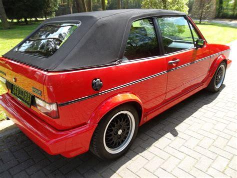 golf 1 cabrio sportline vw golf 1 cabriolet sportline 1991 mk1 eu