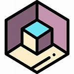 3d Cube Icon Icons Shapes Packs