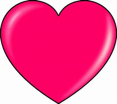 Heart Pink Clip Svg Clipart Vector Clker