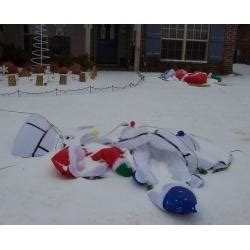 repair airblown inflatable decorations