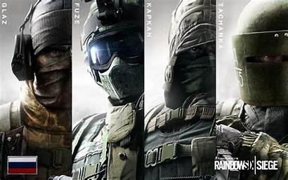 Siege Rainbow Six Russian Kapkan Fuze Glaz