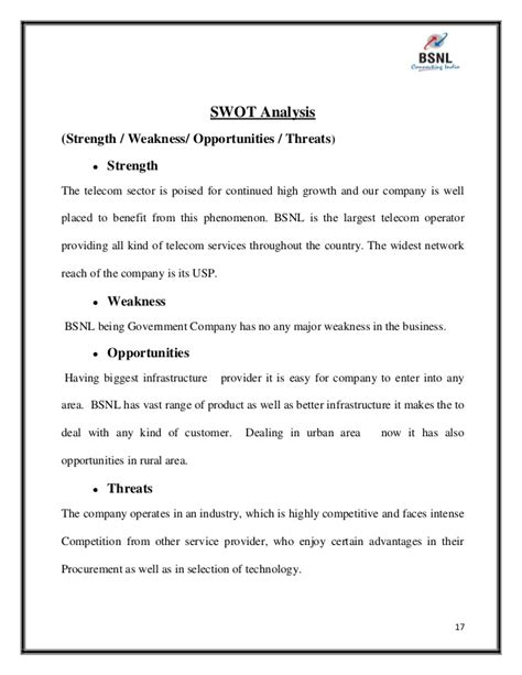 sle strength and weakness mba essay