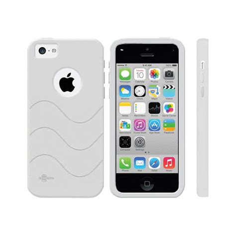 iphone 5c silicone cellsafe silicone for iphone 5c white csip5c w b h