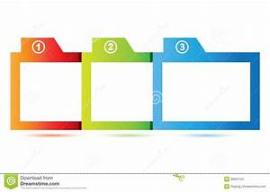 Square Diagram Stock Image