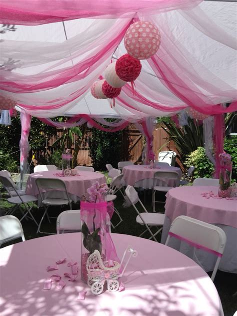 Decorating Ideas For Baby Shower by Tent Decoration For My Baby Shower Baby