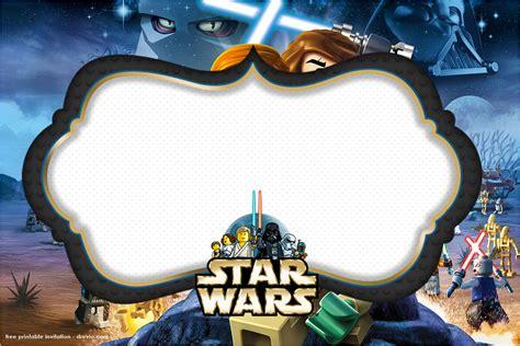 Free Star Wars Printable Birthday Invitations - Menshealtharts
