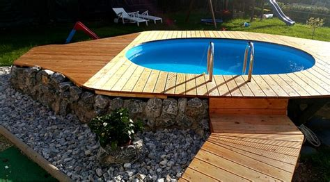 Runder Pool Im Garten by Die Besten 20 Stahlwandpool Rund Ideen Auf