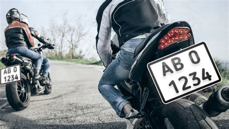 House Bill Sets Larger License Plates To Curb Motorcycle