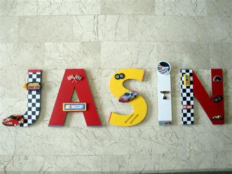 race car custom  letters nascar race car custom wall etsy car themed bedrooms car room