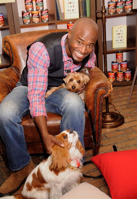 taye diggs  real dogs eat meat launch popsugar pets