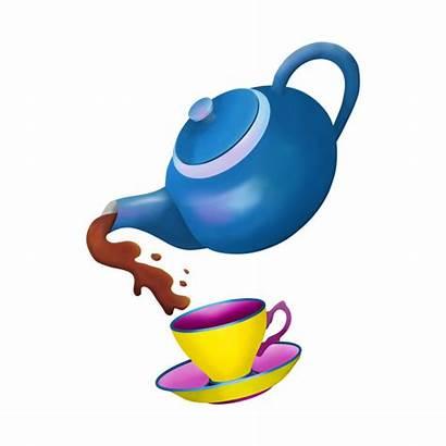 Teapot Tip Pour Pouring Clipart Teacup Shirt