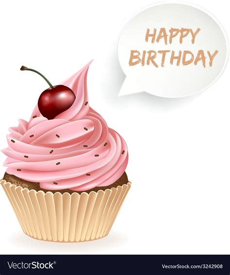 Birthday Cupcake Images Happy Birthday Pink Cupcake Images Impremedia Net