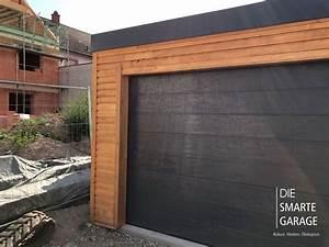 Garage Mit Holz Verkleiden : fink garage die smarte garage ~ Watch28wear.com Haus und Dekorationen
