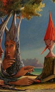 THE DEPARTURE ( Pinocchio) - framed. (2014) Oil painting ...