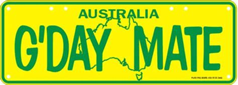 Gday-mate-green-gold-number-plate