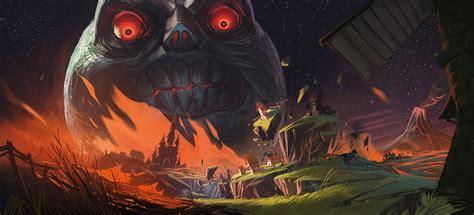 Majoras Mask On Fans Of Zelda Deviantart