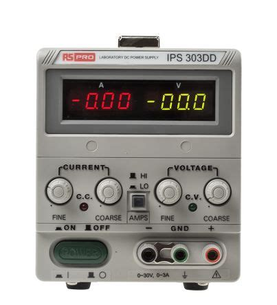 Pro Digital Bench Power Supply Output