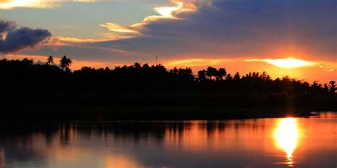 wisata danau limboto  gorontalo  celebes