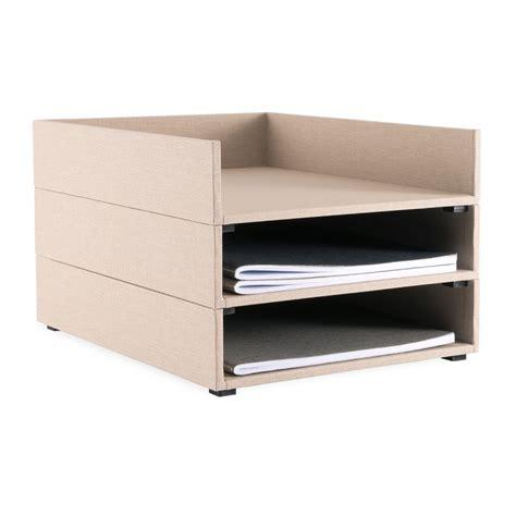 classeurs de bureau range courrier bookbinders design