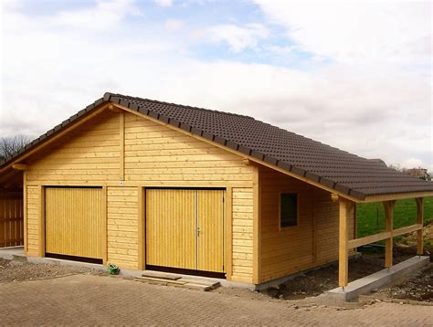 garage bois adosse maison fabricant de garages en bois et de carport en alsace maisons bois lutz