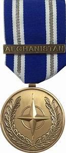 North Atlantic Treaty Organization Medal Afghanistan