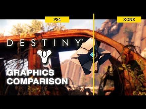 Kaos One One Graphic 7 destiny beta xbox one vs ps4 graphics comparison