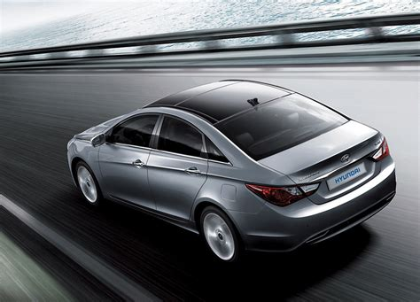 2011 Hyundai Sonata South Korean Model Shown, Size