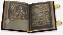 Black Prayer Book of Galeazzo Maria Sforza 7 | Prayer book ...